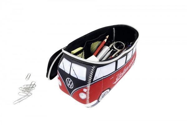 Universaltasche VW T1 Bus rot klein Kulturbeutel Collection by BRISA