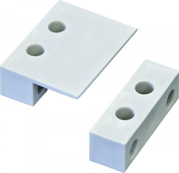 Adapter zur Montage der Funk-Magnetkontakte weiß Thitronik