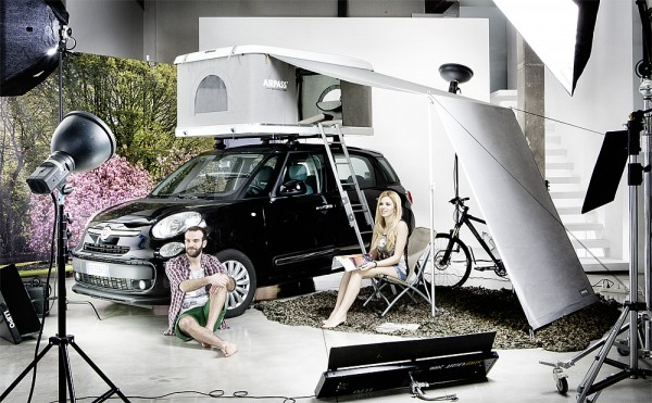AirPass SONNENSEGEL ZU DACHZELT für Autos max. Höhe 185 cm Autohome