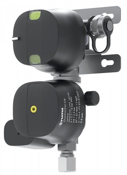 Regler DuoControl CS vertikal 30 mbar Truma Crashsensor zwei Flaschen