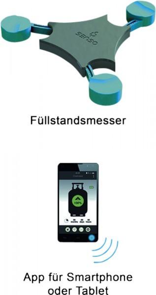 GOK FÜLLSTANDSANZEIGER SENSO4S für APP Wohnwagen WAAGE Grill