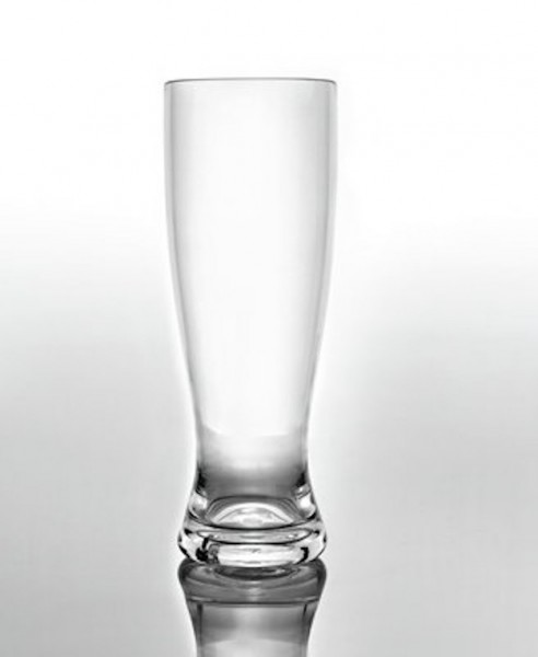 SAN Weißbierglas 0,5 l Camping Weizenglas Kunststoff Weizen Glas