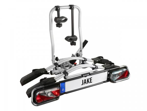EUFAB Fahrradträger JAKE für 2 Fahrräder auch E-Bike geeignet Kupplungsträger