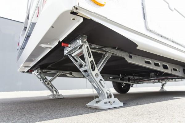 AL-KO Hubstützensystem UP4 Elektrisches Stützensystem Stützen BIGFOOT SET