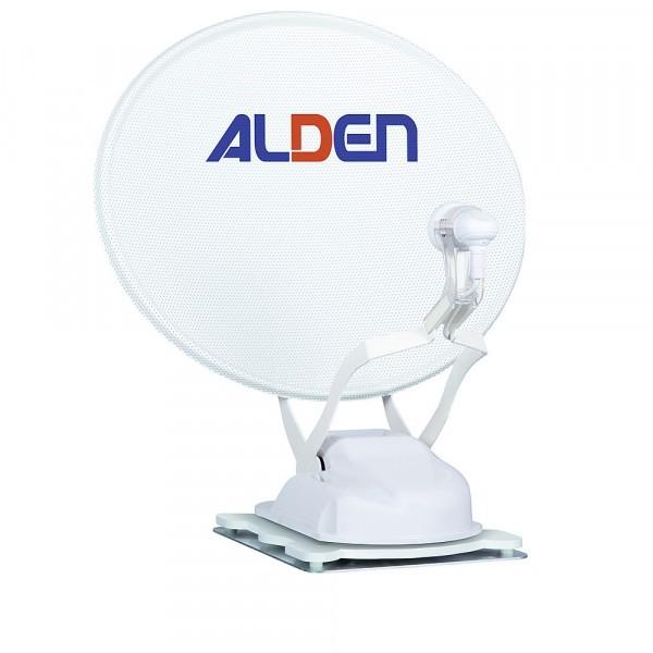 """ALDEN Satanlage Onelight 60 HD EVO Ultrawhite inkl. HD-Steuermodul und Smartwide LED TV 22"""" A"""