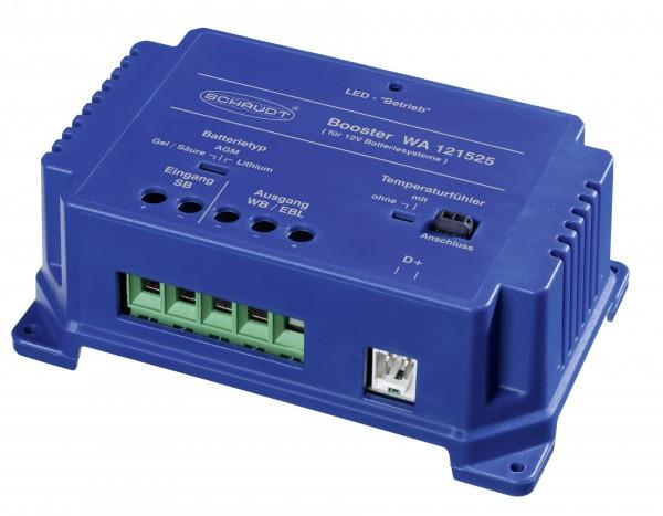 SCHAUDT Batterie Booster 25 A inkl. Temperaturfühler WA 121525