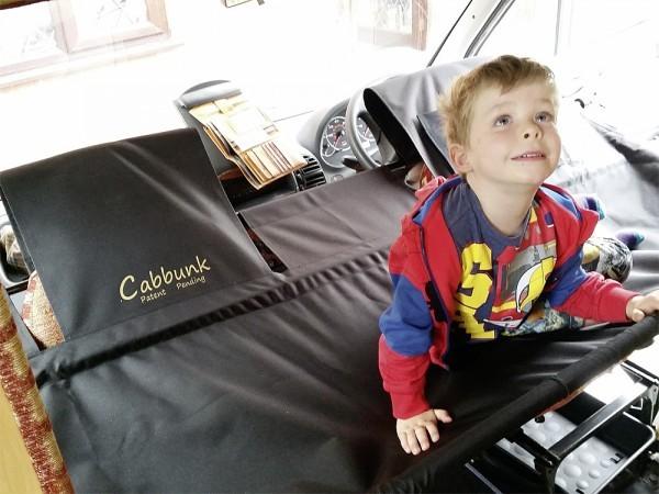 Cabbunk Kinderbett für jedes Fahrerhaus mit Drehsitzen Renault einzel