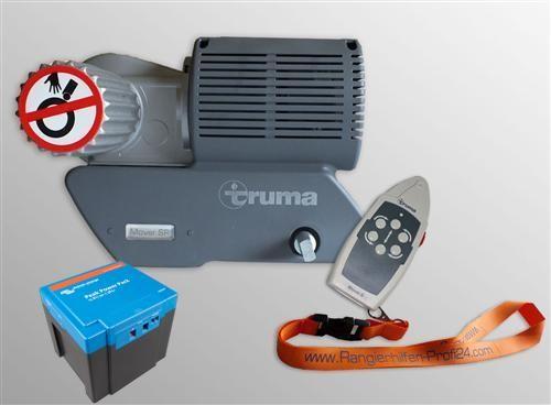 Truma Mover SR 2 + Lithium 12V 30AH PPP Rangierhilfe Trailer Einachser Wohnwagen