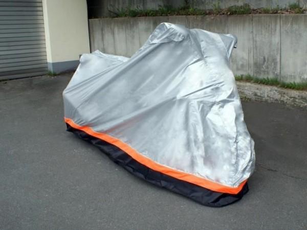 Motorrad Garage Ganzgarage Hochwertige Abdeckung SOMMER WINTER Bike Cover