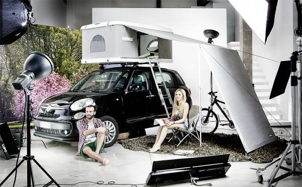 AirPass SONNENSEGEL ZU DACHZELT für Autos max. Höhe 220 cm Autohome