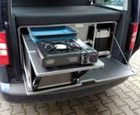 Campingbox M für VW Caddy ab Bj. 2003 und andere Minicamper Minivans