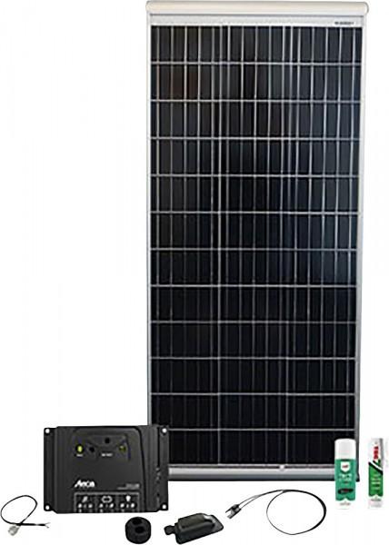 Phaesun Solaranlage Caravan Kit Base Camp Aero SOL10 120 W / 12 V