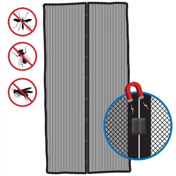 Fliegengittertür mit Magnet verschluss Wohnwagen Tür 210x100cm Camping